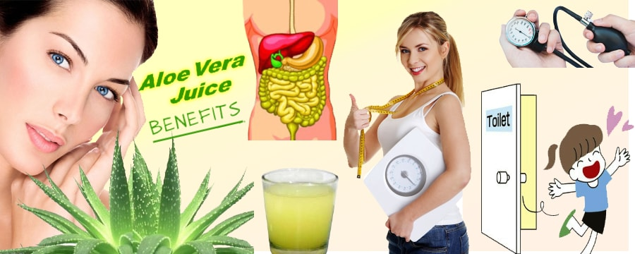 AMAZING BENEFITS OF ALOE VERA JUICE